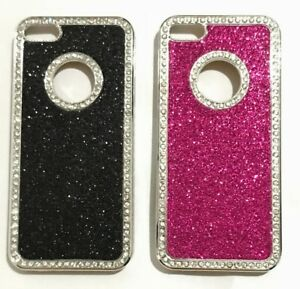 GLITTER AND GEM CASE COVER FOR IPHONE 5,5S, SE uk