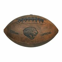 Wilson Jacksonville Jaguars Throwback Football , 9-Inches - NEW