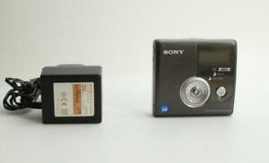 Sony MZNH900 Hi-MD MiniDisc Walkman Portable Recorder Black - VGC (MZ-NH900/BM)