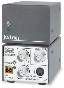 Extron YCV100 S-Video / YC To Composite BNC Video Converter Encoder 60-559-01