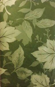 Print of Autumn Leaves on Asrt. Colors Vinyl Flannel Bk Tablecloth Various Sizes