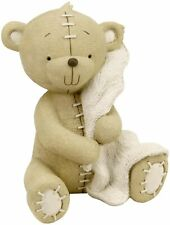 Button Corner Resin Money Bank Bear with Blanket  CG705