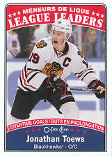 16/17 O-PEE-CHEE OPC LEAGUE LEADERS #651 JONATHAN TOEWS BLACKHAWKS *24010