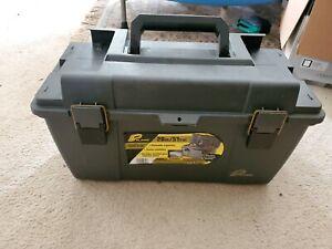 PLANO MOLDING Portable Tool Box 20-1/4 In. W Gray 651 Gray with shelf