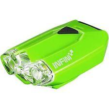 Infini Lava super bright micro USB front light with QR bracket green green