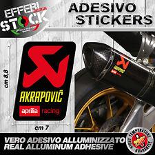 Adesivo/Sticker AKRAPOVIC APRILIA RACING RSV4 RF NEW TUONO DORSODURO EXAUST200°