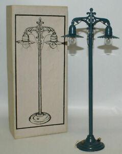 """Vintage Standard Gauge or 1 Gauge 11"""" Train Layout Diecast Lamp Post, New in Box"""