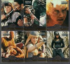XENA LUCY LAWLESS RENEE O'CONNOR SEASON 4/5 ENEMIES FOIL STAMPED CHASE SET E1-E6