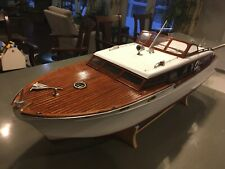 Gorgeous rtr Sterling Chris craft 48� corvette r/c model wooden boat ready to go