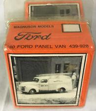 1/87 HO SCALE MAGNUSON MODELS ~ 1940 Ford Panel Van  ~ RESIN MODEL KIT ~ NEW