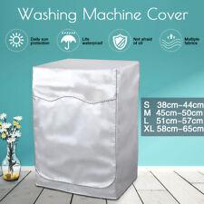Washing Machine Cover for Turbine Roller Anti-Dust Waterproof w/Zipper