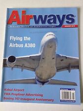 Airways Magazine Airbus A380 Kabul Airport January 2010 FAL 050717nonrh