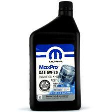 GENUINE MOPAR 5W20 ENGINE OIL 0.946L JEEP CHRYSLER DODGE 68218890AB MS-6395