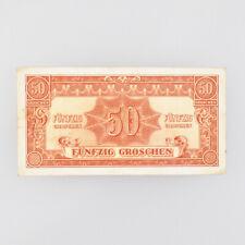50 Groschen - Alliierte Militärbehörde - Serie 1944 - Österreich - Geldschein