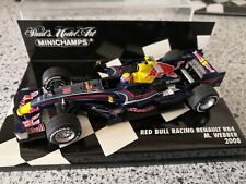 Redbull RB4 Mark Webber Racecar 2008 1/43 in Box