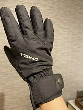 Oneill Ski Gloves Womens Size Medium Black