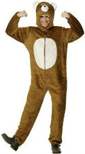 Smiffy's Bear Adult Costume with Hood Size Medium