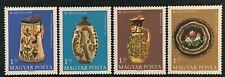 Timbre HONGRIE Yvert et Tellier n°2001 à 2004 n** Mnh (Cyn36) HUNGARY Stamp