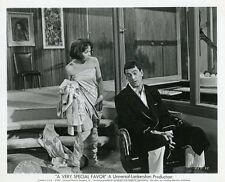 ROCK HUDSON LESLIE CARON A VERY SPECIAL FAVOR 1965 VINTAGE PHOTO ORIGINAL #7