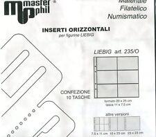 Fogli per Immagini sacre e Liebig a 6 tasche ORIZZONTALI- Ditta Masterphil