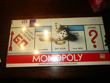 1980S MONOPOLY GAME FACTORY SEALED  NEVER OPENED