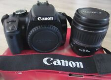 Canon EOS Digital Rebel XTi Digital SLR Camera with 18-55 mm lens - Black