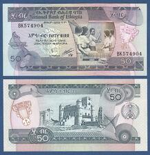 ÄTHIOPIEN / ETHIOPIA  50 Birr (1991) UNC  P.44 c
