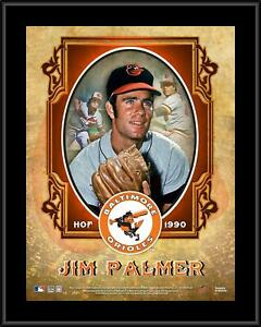 """Jim Palmer Baltimore Orioles 10.5"""" x 13"""" Hall of Fame Sublimated Plaque"""