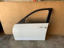 BMW F30 F31 FRONT LEFT DRIVER SIDE DOOR SHELL ASSEMBLY WHITE ALPINE 300 OEM 86MK