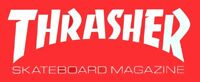 Thrasher Magazine Skateboard Sticker Skating skateboarding skate snow surf Large