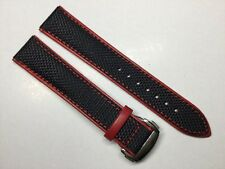 NEW 20MM BLACK CANVAS STRAP BAND BRACELET FOR OMEGA SPEEDMASTER SEAMASTER