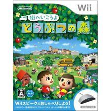 Used Wii Animal Crossing: City Folk w/ Wii Speak Japan Import