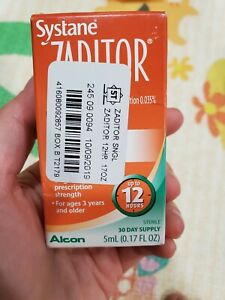 Systane Zaditor Eye Itch Relief  0.17 Oz  04/2021