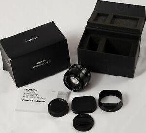 Fujifilm XF 35mm F1.4 Fujinon Aspherical Fuji X Mount Lens