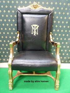 STOCK  Tony Montana Al Pacino scarface designer film movie prop seat chair