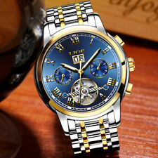 Mens Watches Top Brand Luxury Automatic Mechanical Watch Men Full Steel Business