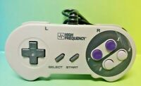 High Frequency Super Nintendo System SNES Controller Super Nintendo SNES Tested!