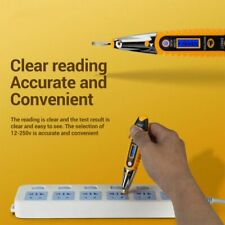 Tester Pen 12-250V AC Voltage Detectors Meter Volt Current Electric Test Pencil