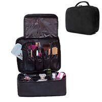 Professional Makeup Bag Large Cosmetic Case Storage Handle Organizer Travel Kit