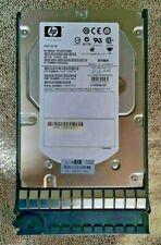 "HP 450GB 15K EF0450FARMV SAS 6Gbps Dual Port 3.5"" PN 9FM066-035, FW HPD0 /w TRAY"