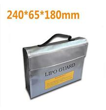 RC LiPo Battery Safety Bag Safe Guard Lade Sack 240 * 180 * 65 mm F16390