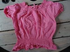 T-shirt bouffant rose à élastiques au col et ceinture H&M Taille 4-5 ans/110 cm