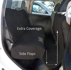 """Large Pet Seat Cover for Truck, Van, large SUV, Trailer 62""""W x 94""""L - Black"""