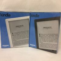 "All New Kindle E-reader 6"" Glare-Free Touchscreen Display, Wi-Fi, White Black"