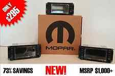 MOPAR OEM 430 RBZ RB2 CD DVD MYGIG RADIO HIGH SPEED JEEP WRANGLER DODGE RAM ETC