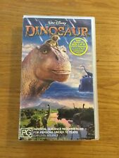WALT DISNEY PICTURES PRESENTS   DINOSAUR.  VHS. RATED PG.  VGC
