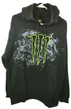 Monster Energy Men's XL Black Hoodie Code 96 713099