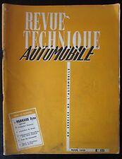 ANCIENNE REVUE TECHNIQUE AUTOMOBILE N° 155  de 1959 DYNA PANHARD 1958 / 1959