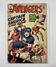 Avengers #4 CGC - 1st Silver Age Captain America 1964 Marvel Comics Good+