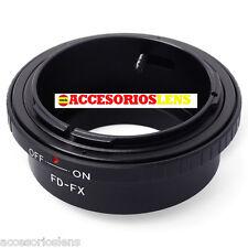 ADAPTADOR DE OBJETIVOS CANON FD  A FX,Fujifilm, Fuji X-Pro1, XPro1 X Pro 1